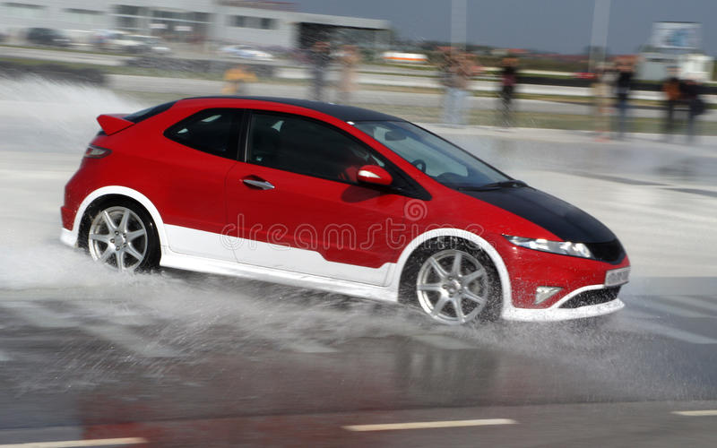 Download Car On The Test Track Stock Photos - Image: 20368103