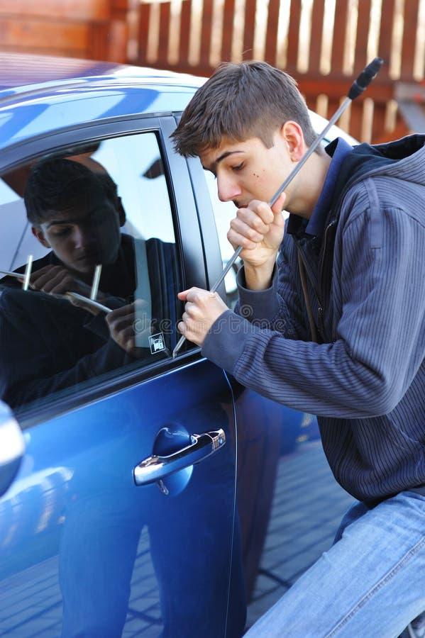 Car Thief Royalty Free Stock Photo