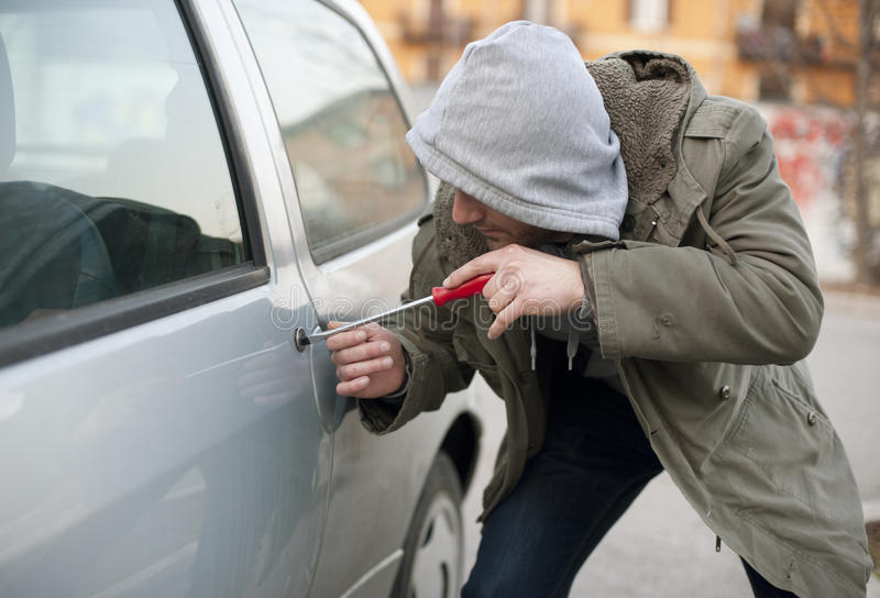 Car Thief Stock Photos