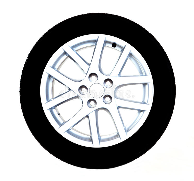 Car Tire Stock Photography