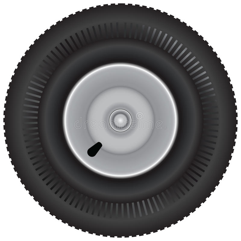 Download Car tire stock vector. Image of transportation, detail - 30553971