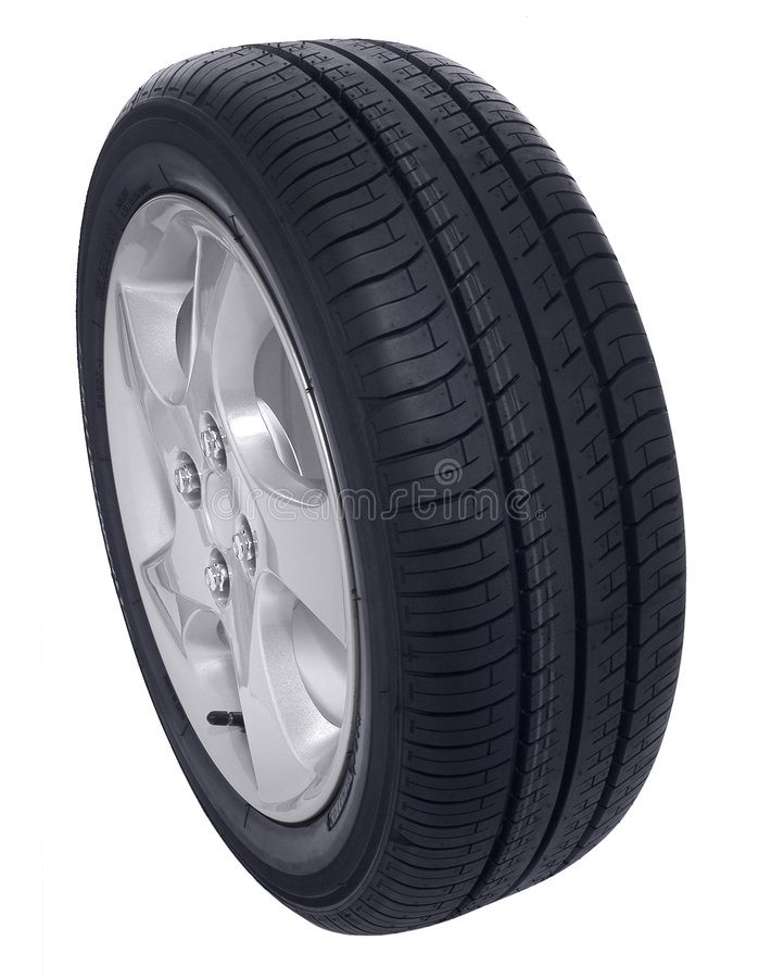 Free Car Tire Tyre Isolated Royalty Free Stock Images - 3379309