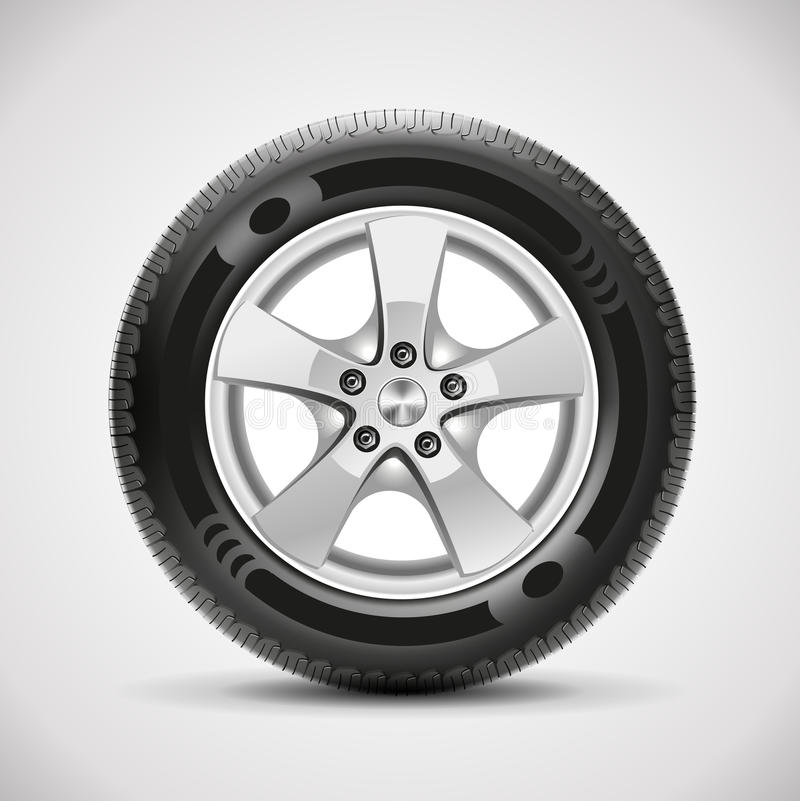 Free Car Tire, Vector Stock Image - 35991291