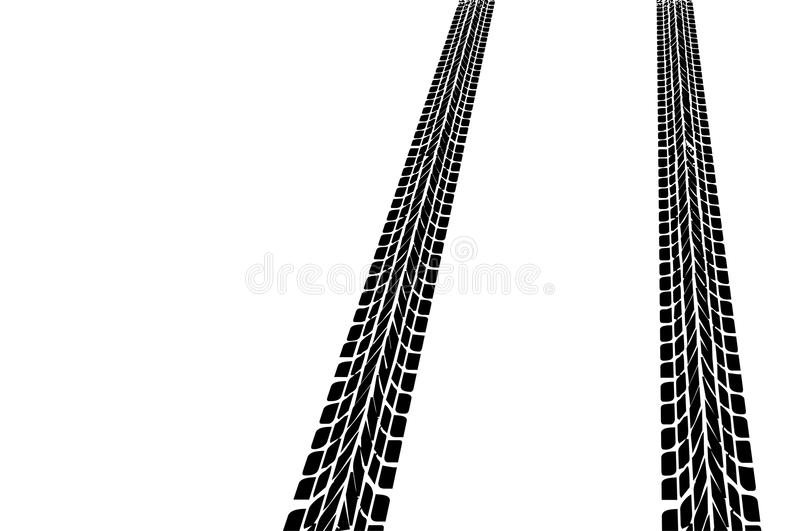 Download Car tires stock illustration. Image of winter, road, tires - 19650304