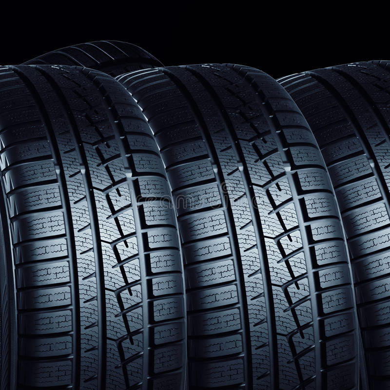 Free Car Tires Royalty Free Stock Images - 27273139