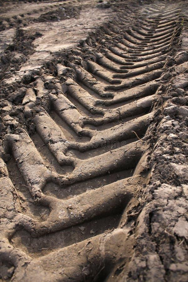 Free Car Tracks On The Ground Stock Photos - 13071703