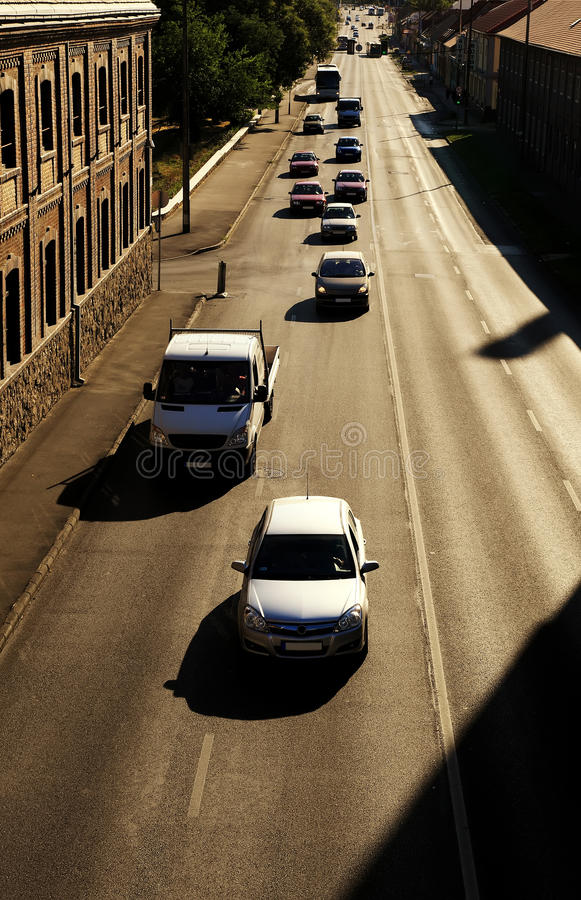 Car Traffic Stock Photography