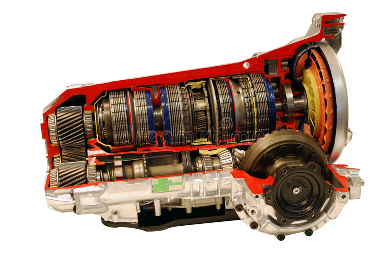 Car transmission part royalty free stock image