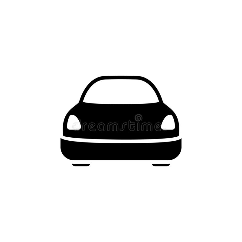 Car, transport icon. Simple glyph vector of universal set icons for UI and UX, website or mobile application. On white background vector illustration