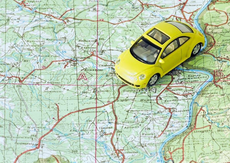 Car travel stock photo