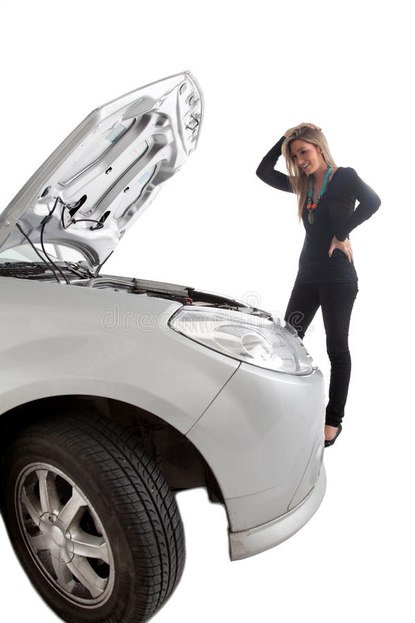 Download Car trouble stock photo. Image of hopeless, people, adult - 15520922