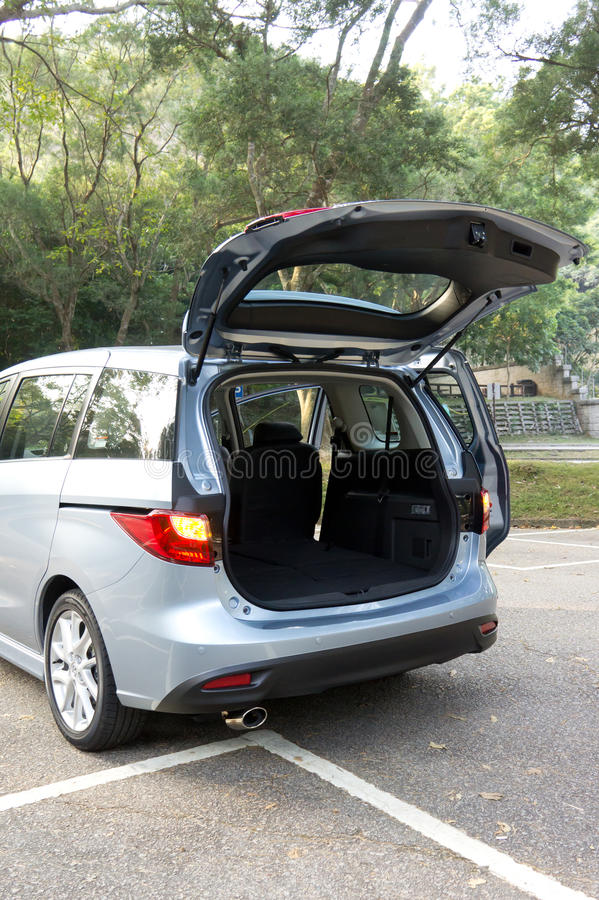 Download Car trunk inside stock image. Image of empty, people - 39235491