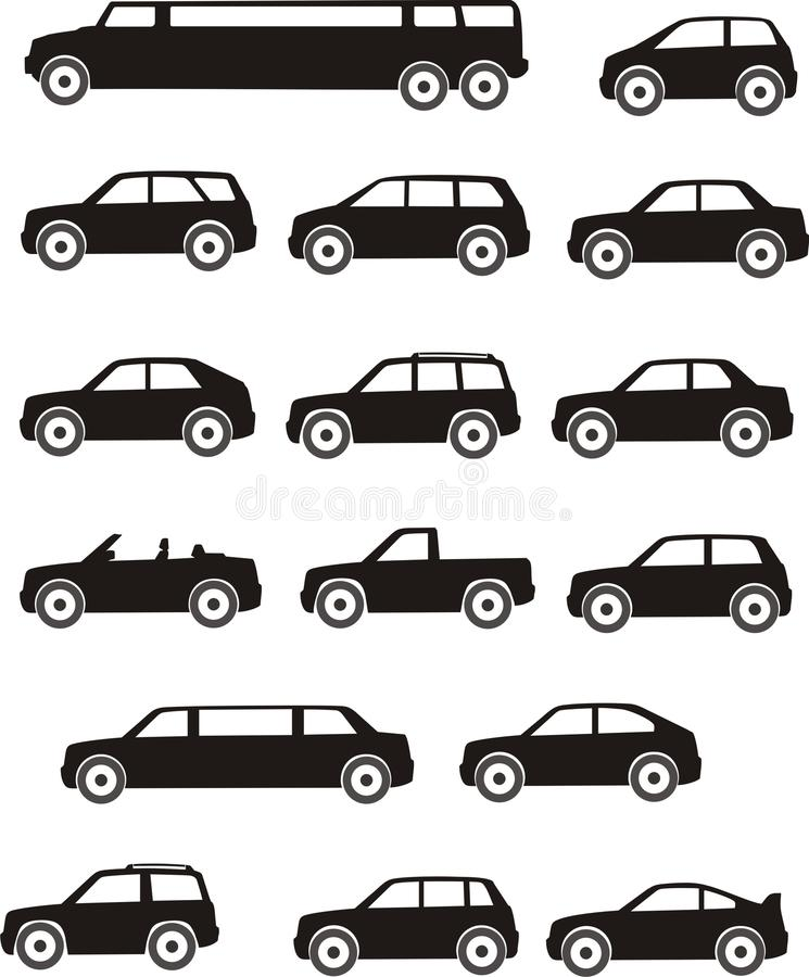 Download Car types stock vector. Illustration of image, economical - 20520796