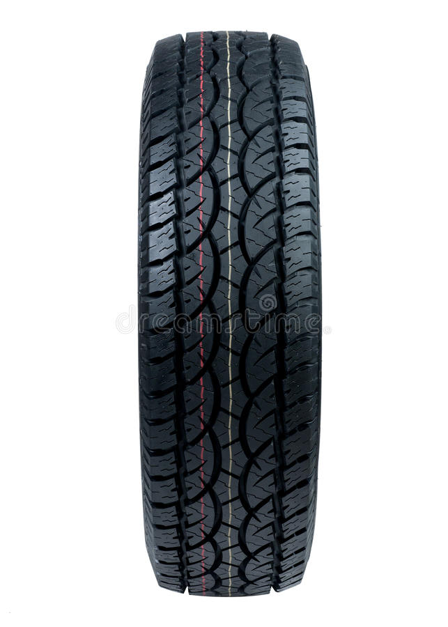 Car Tyre Royalty Free Stock Image