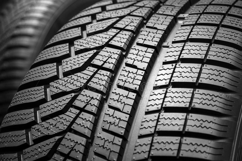 Car tyre profile tire stock images
