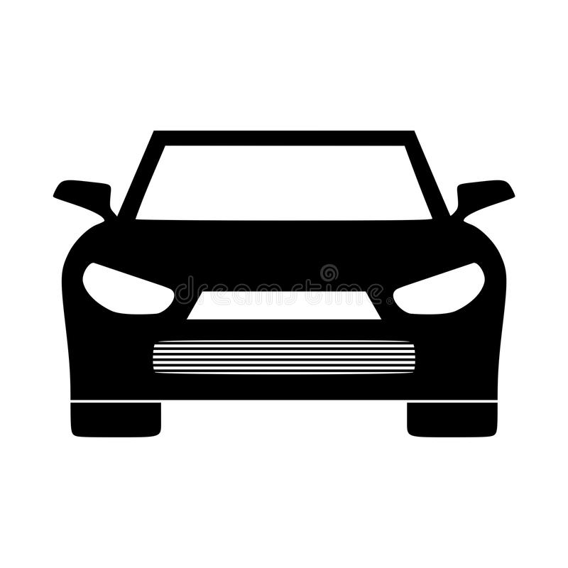 car vector icon simple front car logo illustration stock vector rh dreamstime com car vector line art car vector free