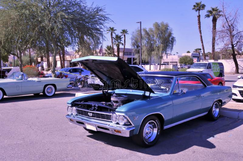 Chevelle SS 396 High Performance Muscle Car royalty free stock photography
