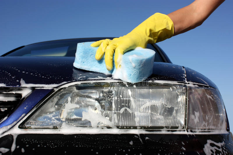 Download Car wash stock photo. Image of work, water, yellow, isolated - 11054858