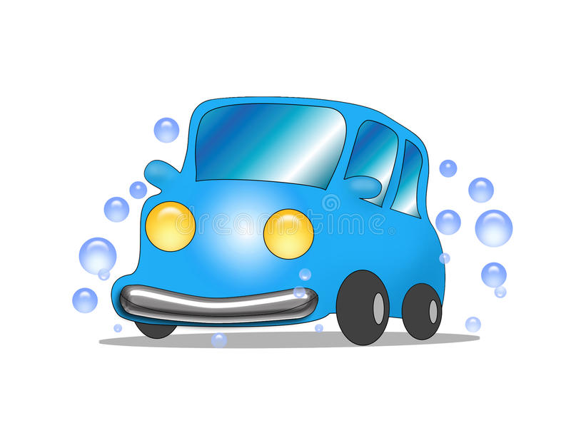 Download Car wash stock illustration. Image of commercial, image - 12081150