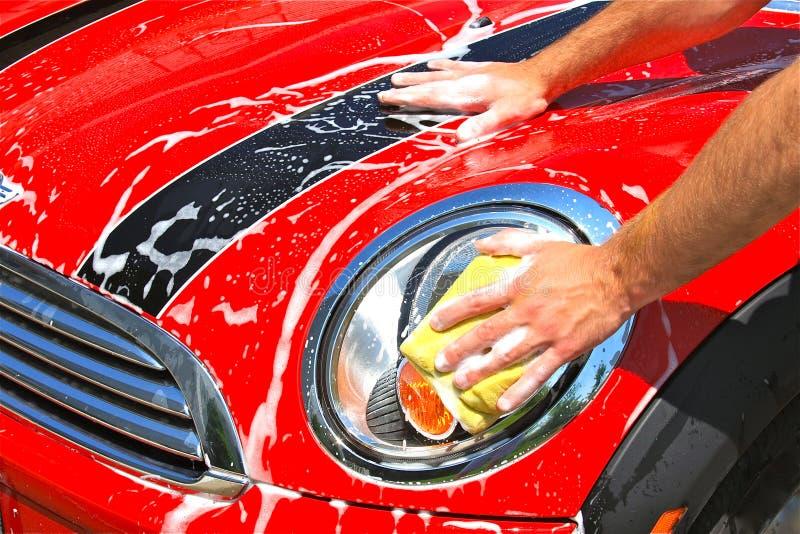 Download Car Wash stock image. Image of transportation, part, hands - 14494661