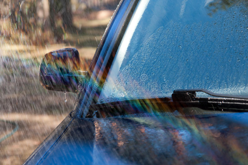 Download Car Wash stock photo. Image of mirror, flow, glass, wash - 22573954