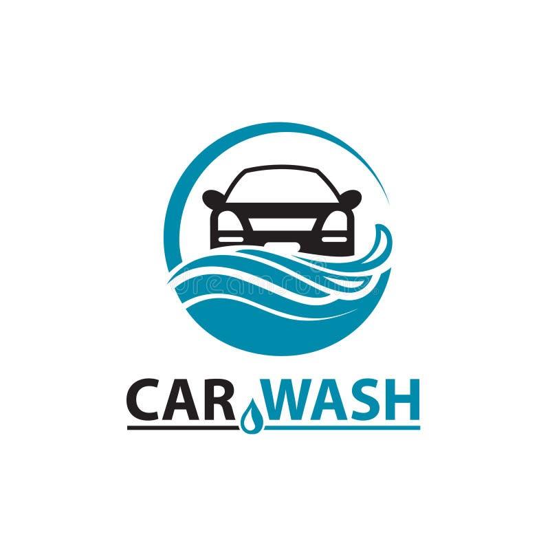 Car wash icon. Car wash service icon isolated on white background stock illustration