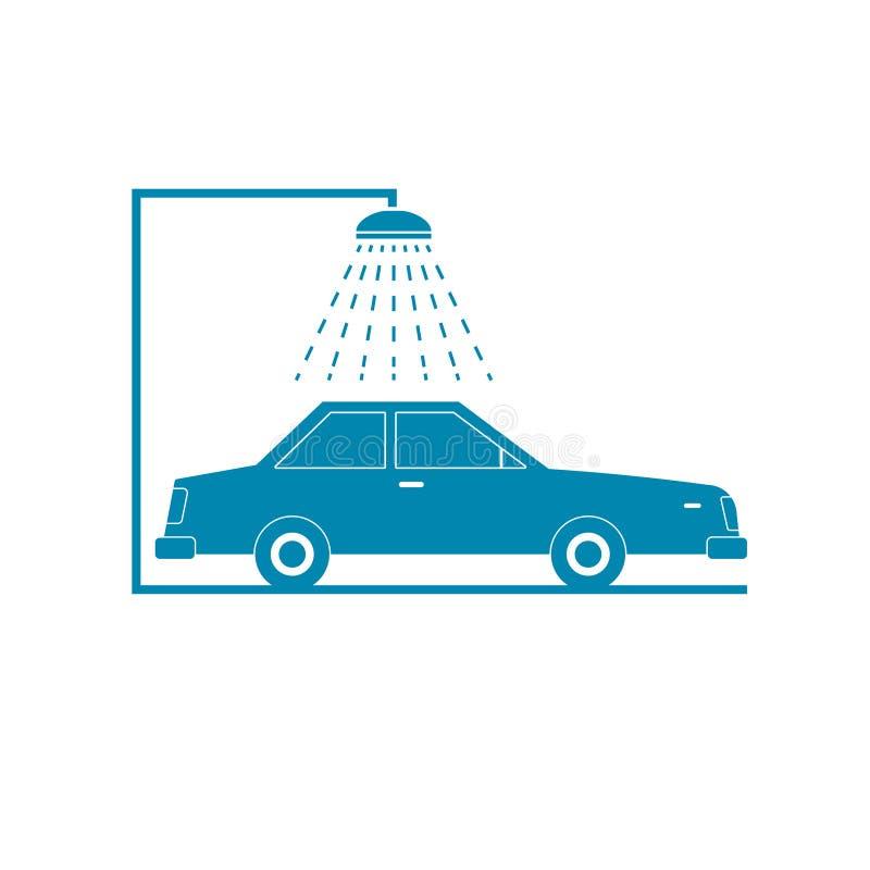 Car wash icon vector illustration