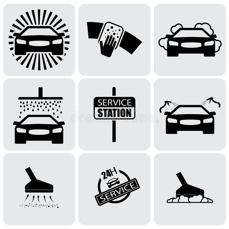 Free Car Wash Icons(signs) Set Of Cleaning Car- Vector Graphic Royalty Free Stock Photo - 32337965