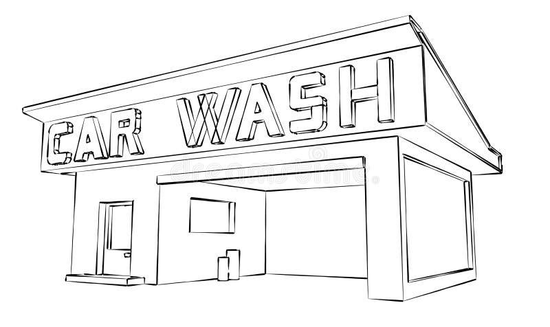 Download Car Wash Stock Illustration - Image: 38895884