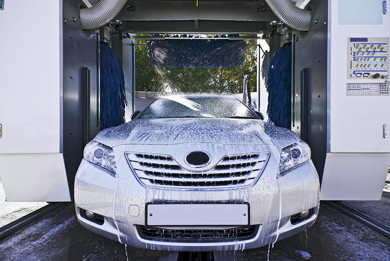 Download Car wash in process stock image. Image of wash, process - 16950477