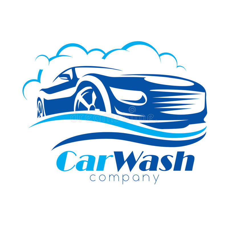 Free Car Wash Stylized Vector Symbol Stock Images - 98353644