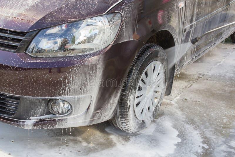 Car wash wheel stock photos