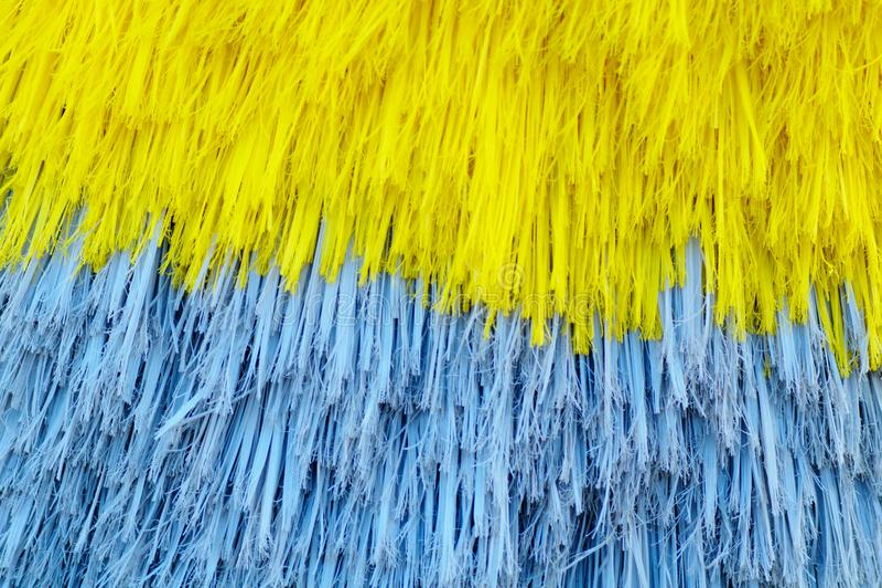 Car washing brushes stock photography