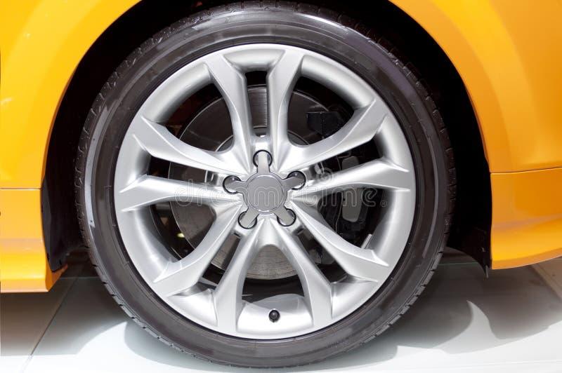Car wheel. The photo of car wheel stock photo