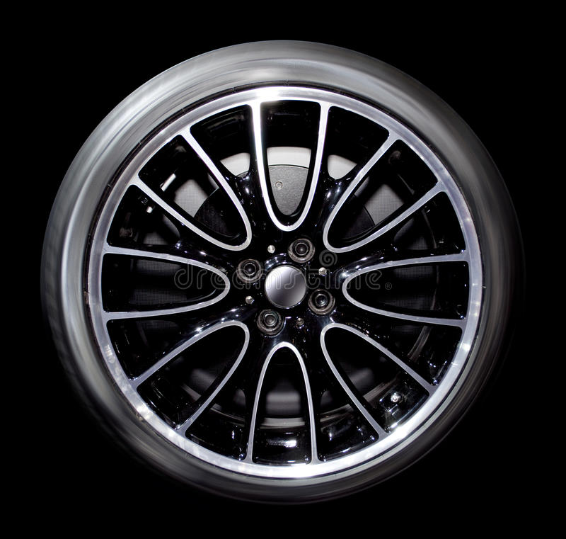 Car wheel. The photo of car wheel stock photos