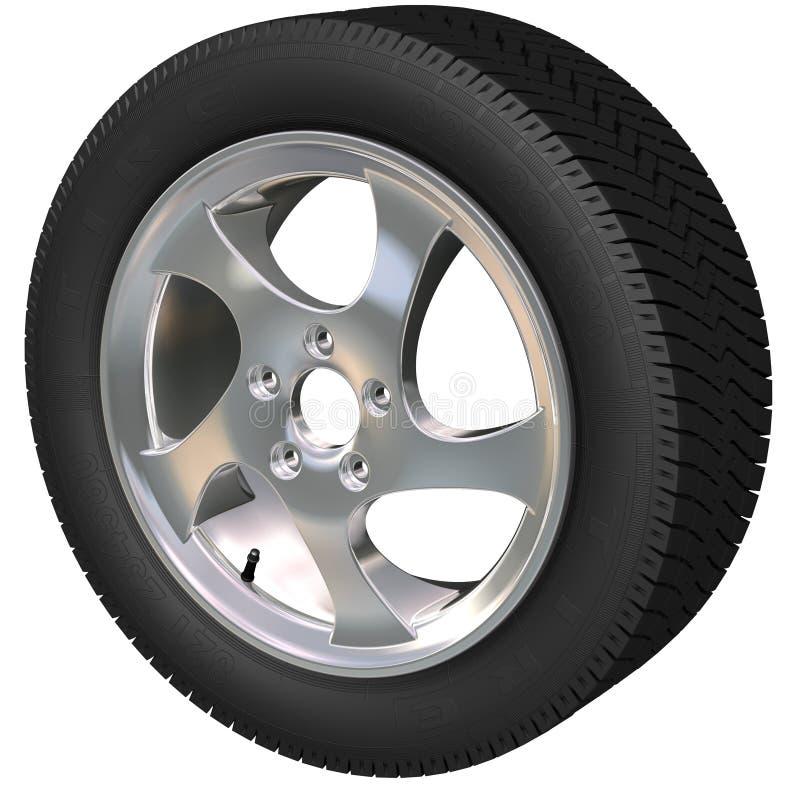 Car Wheel royalty free stock photos