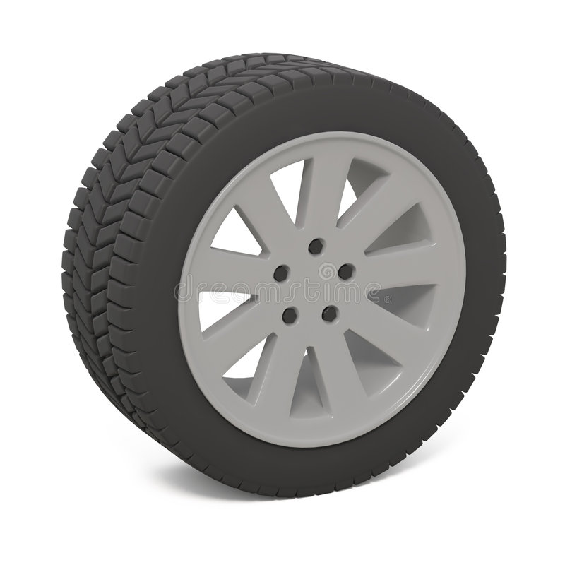 Download Car wheel stock illustration. Image of autos, technical - 3080162
