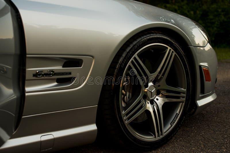 Car wheel royalty free stock photography
