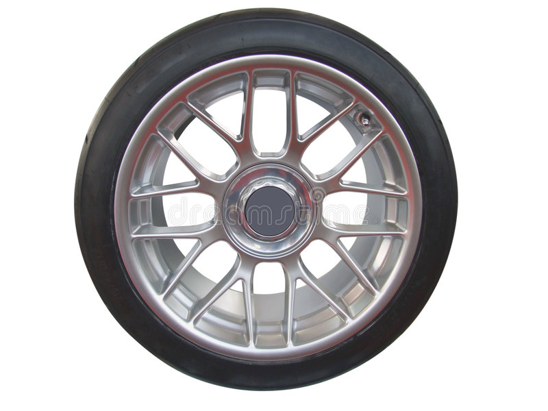 Car wheel and rim stock photography