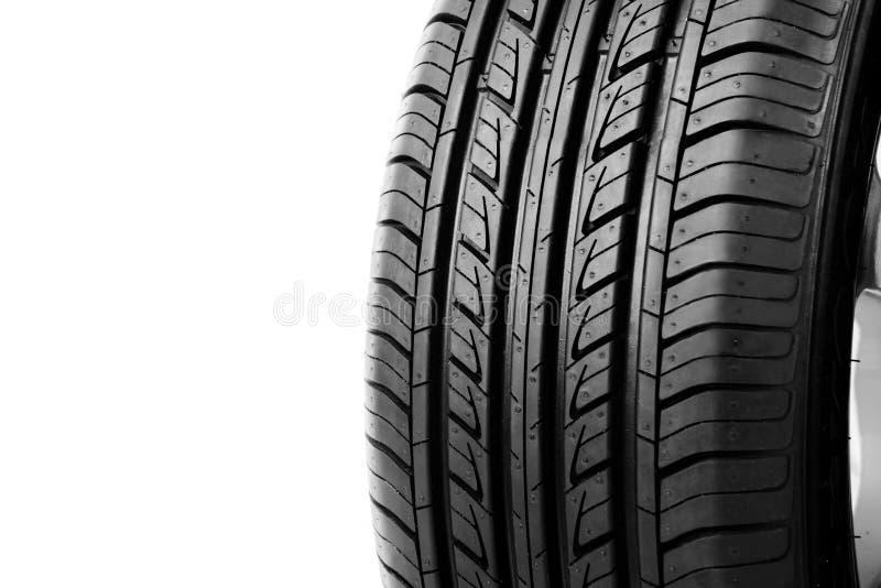 Car wheel. On white background stock image