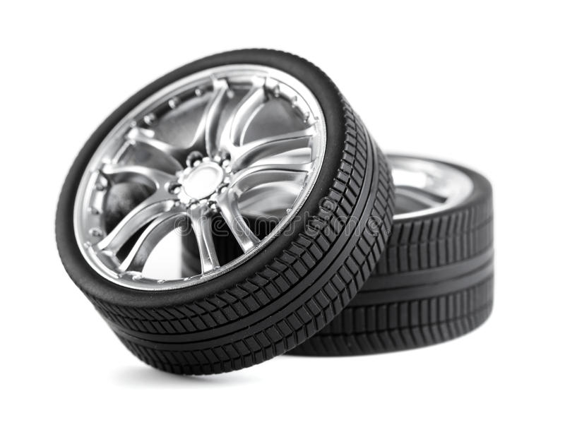 Car Wheels Royalty Free Stock Images