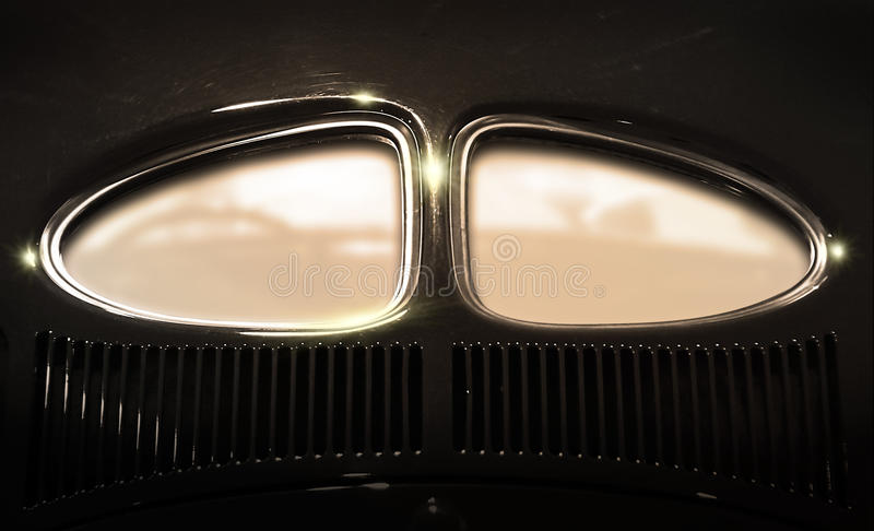 Car window with copyspace