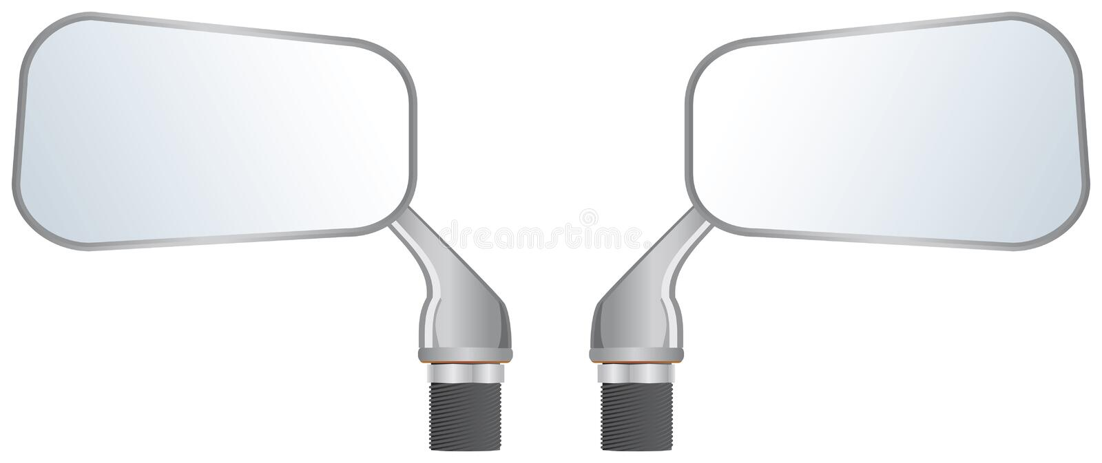Car Wing Mirrors Royalty Free Stock Photo