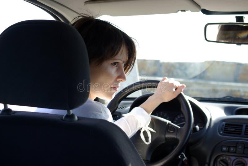 car woman στοκ φωτογραφία με δικαίωμα ελεύθερης χρήσης