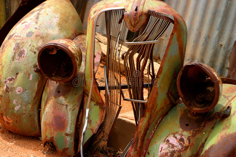 Download Car wreck stock image. Image of retro, rust, crushed - 12864783