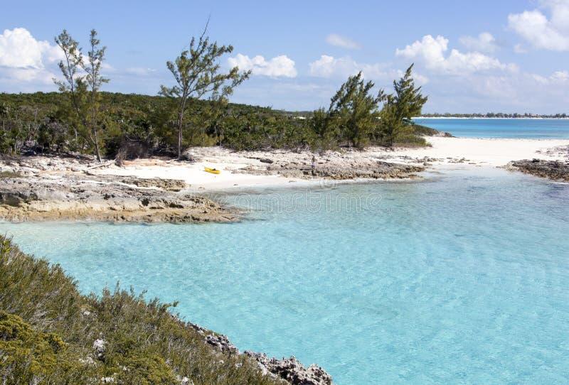 Caraïbisch Eilandlandschap stock afbeeldingen