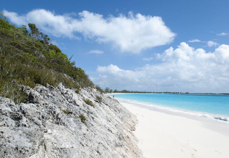Caraïbisch Eilandlandschap royalty-vrije stock afbeelding