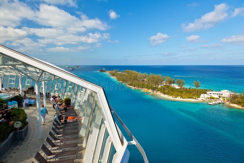 Caraïbische Cruise royalty-vrije stock fotografie