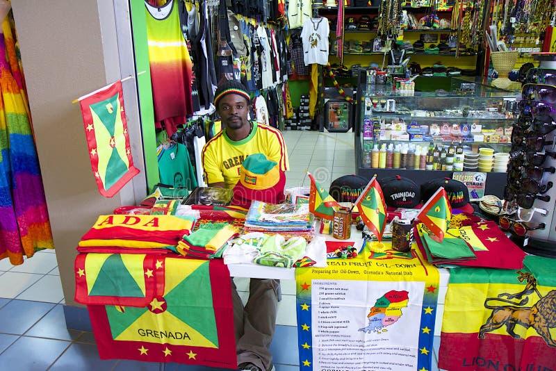 Caraïbische de Onafhankelijkheidsdag van Grenada, royalty-vrije stock foto's