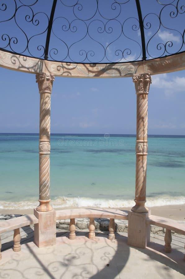 Caraïbische Gazebo stock foto